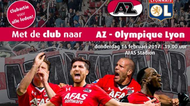 Egel actie AZ Olympique Lyon