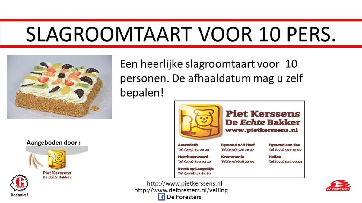 Slagroomtaart - kopie